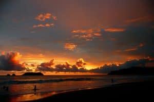 playa sunset